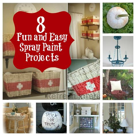 8 And Easy Spray Paint Projects Thistlewood Farm