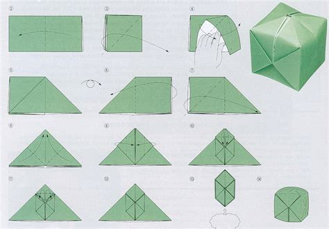 how to make an origami l l origami modulaire