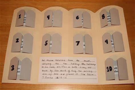 ten commandments crafts for shower of roses ten commandments book