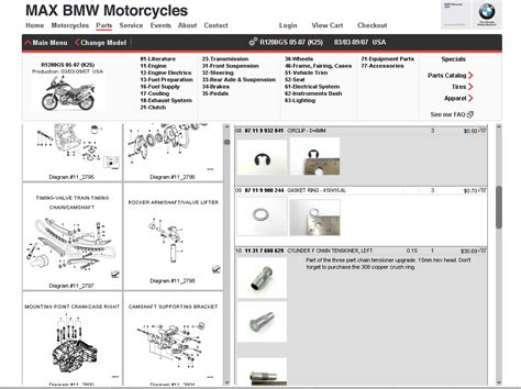 Max Bmw Parts Fiche by Max Bmw Motorcycles Parts Advice It S A Grand Day At