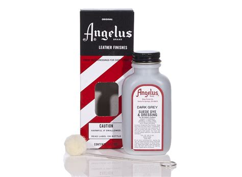 angelus paint suede dye angelus dyes paint grey 3oz suede dye leather