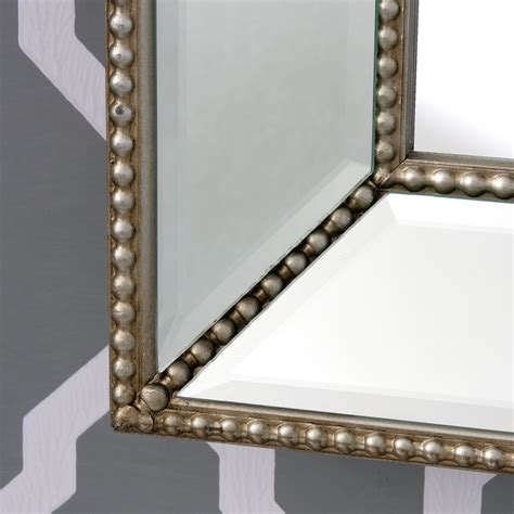 large beaded mirror mirror frame decorative wall mirrors beaded x large