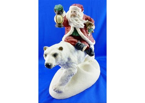 the legend of santa claus figurines the legend of santa claus limited edition collection into
