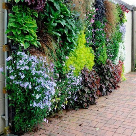 garden wall covering home dzine garden disguise or cover vibracrete or