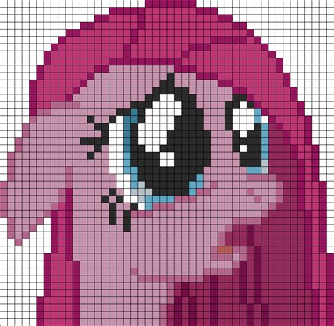 perler bead grid pinkamena perler bead pattern bead sprites characters