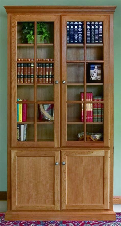 bookcase plans with doors bookcases with glass doors find bookcases with glass