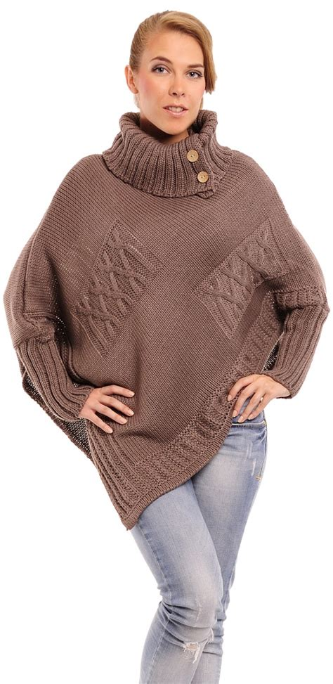 cable knit poncho sweater moda s cable knit poncho jumper pullover top