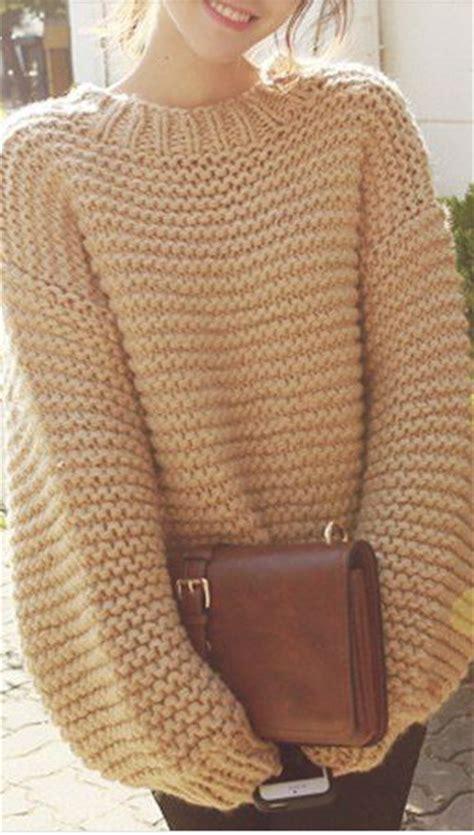 big knit jumpers best 25 knit sweaters ideas on winter