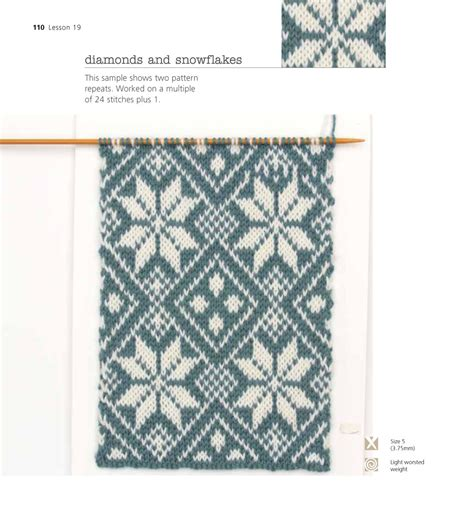 beginner fair isle knitting pattern the easy guide to fair isle knitting lynne
