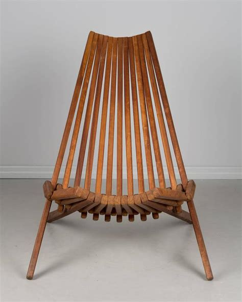 Mid Century Folding Chair by Mid Century Teak Folding Chair For Sale At 1stdibs With