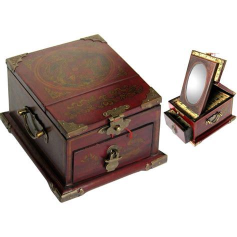 boite 224 bijoux avec miroir magasin du meuble asiatique et chinois