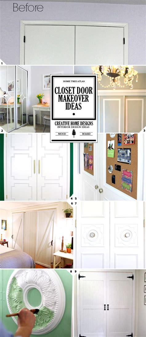 closet door ideas diy diy challenge give your closet doors a makeover ideas