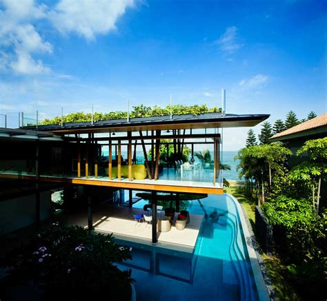 modern mansion house architecture fish house guz architects archdaily