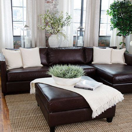 decorating a living room with brown leather furniture best 25 brown leather sofas ideas on brown