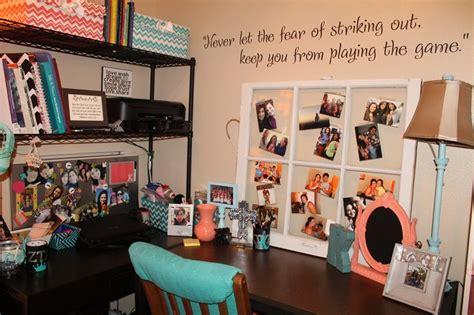 college desk college apartment desk area sophomore year coral