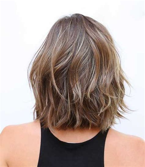 pictures of the back of shoulder lenth hair 15 short shoulder length haircuts short hairstyles 2016