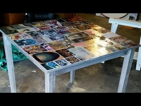 decoupage dining table d i y decoupage dining table