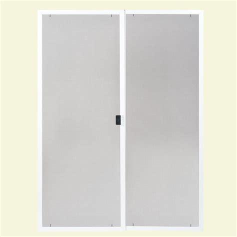 masonite patio doors masonite 80 in x 60 in replacement screen kit for dual
