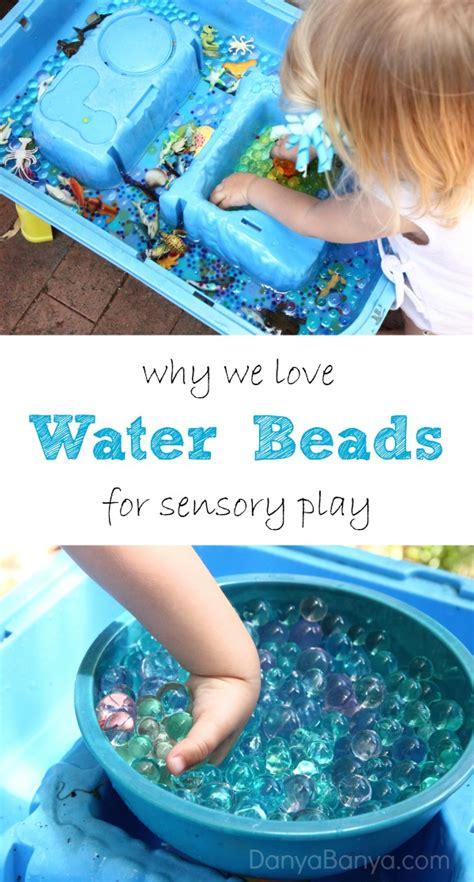 water for sensory play we water danya banya
