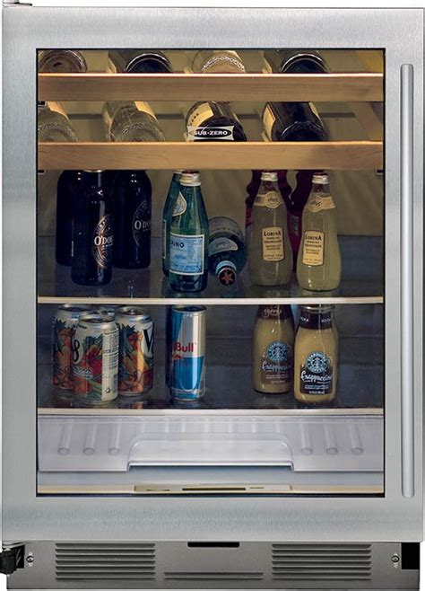 sub zero glass door sub zero uc24bg s th glass door beverage center with