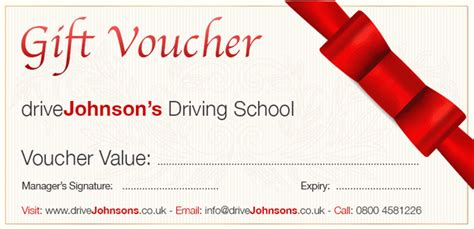 gift vouchers for all occasions drivejohnson s