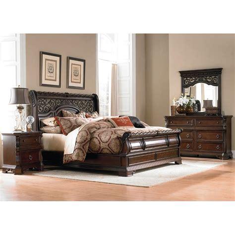 cal king bedroom furniture set arbor place 6 cal king bedroom set