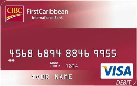 how to make a visa card firstcaribbean international bank visa debit