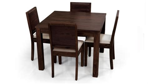 dining table and four chairs square dining table for 4 homesfeed