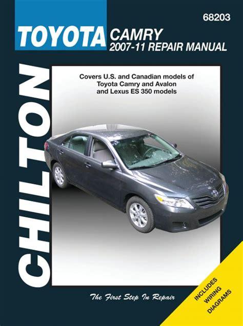 what is the best auto repair manual 2007 maserati quattroporte interior lighting toyota camry avalon lexus es 350 2007 2011 chilton repair manual