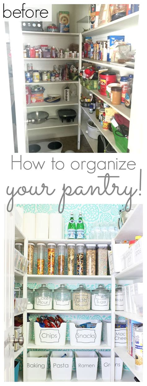 how to organize a pantry how to organize your pantry and a pretty pantry makeover