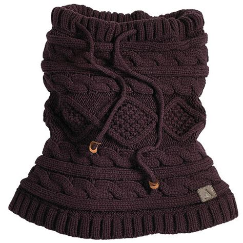 knit snood musto gower cable knit snood bordeaux redpost equestrian
