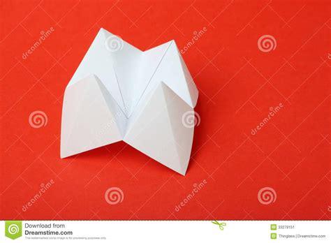 teller origami origami fortune teller stock image image 33279151