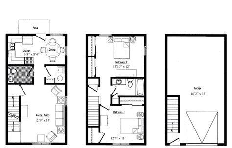 1 bedroom garage apartment floor plans 17 best 1 bedroom garage apartment floor plans house