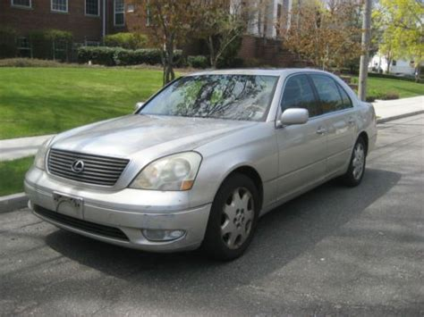 books on how cars work 2001 lexus ls head up display sell used 2001 lexus ls 430 leather sunroof the works in little neck new york