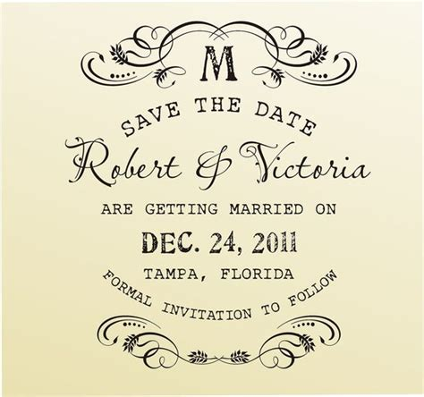 rubber date st font save the date vintage design typewriter font rubber st