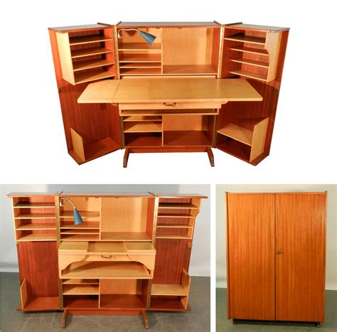 compact office desk teak and sycamore compact home office desk and storage