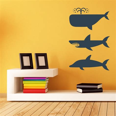 whale wall stickers whales wall stickers by artollo