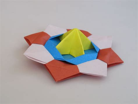 origami tops origami how to make a spinning top