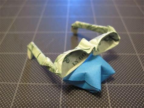 origami eyeglasses origami bat dollar bill paper folding bats