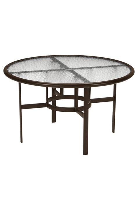 tropitone patio table tropitone patio table tropitone banchetto aluminum 42