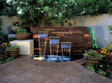 garden feature wall water feature wall for driveway and garden concept