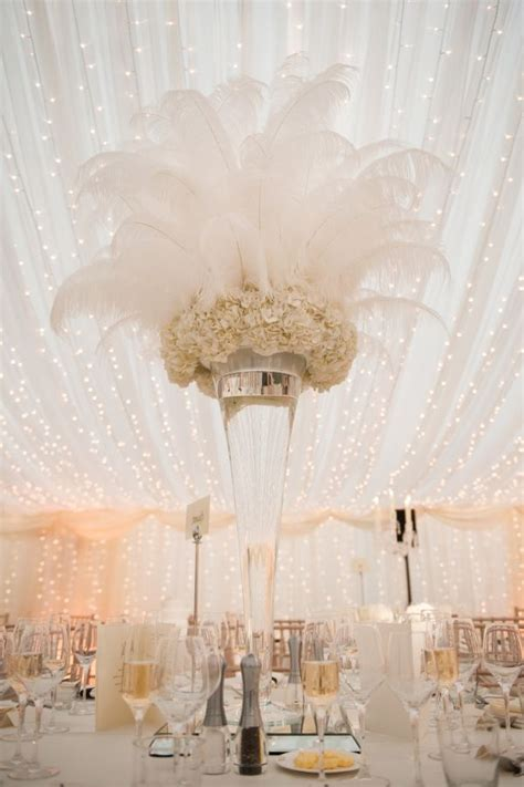 feathers for centerpieces 55 eye catching feather wedding ideas for 2016