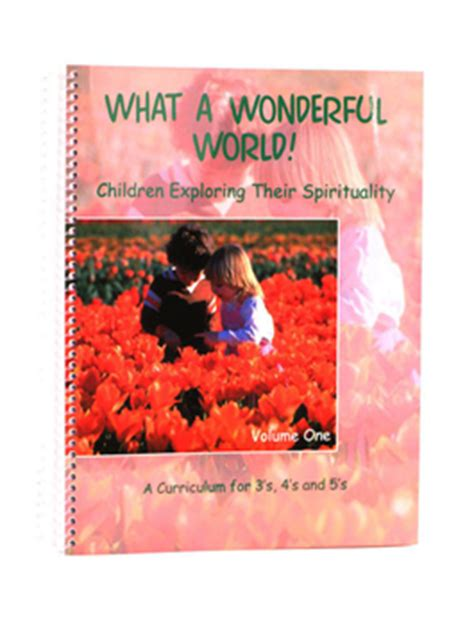 what a wonderful world picture book unity store what a wonderful world book 1