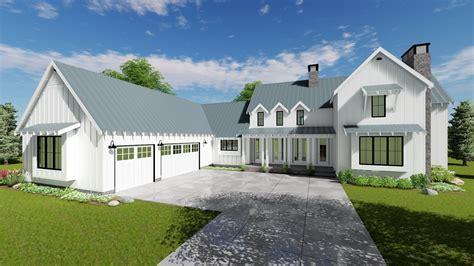 2 story farmhouse plans 1 1 2 story modern farmhouse house plan summerfield