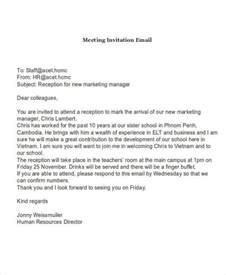 invitation to a 7 invitation email exles sles