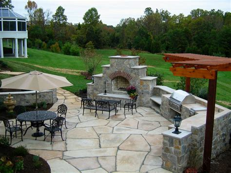 outdoor concrete patio designs paver patios hgtv