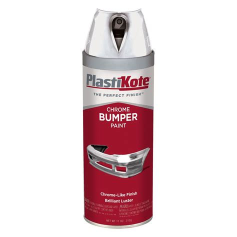 spray paint chrome plastikote 174 615 12 oz chrome spray can bumper paint