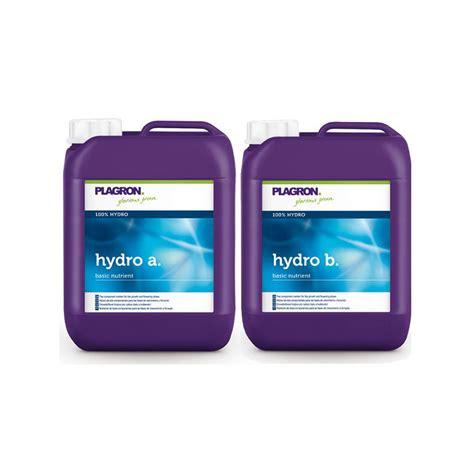 plagron hydro a b 10l engrais hydroponique croissance et floraison bi composant plagron 95