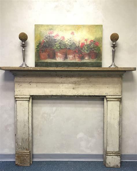 shabby chic mantel decor shabby chic fireplace surround mantel antique distressed