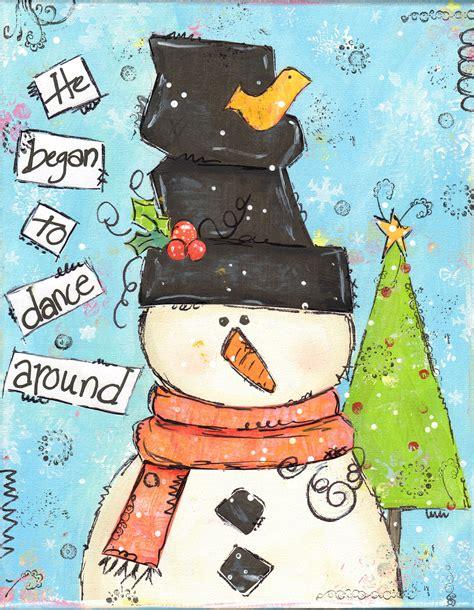paint nite snowman snowman paint maureen marks